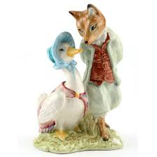 Jemima Puddle-Duck and Foxy Whiskered Gentleman
